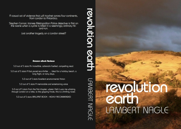 Paperback Cover Revolution Earth